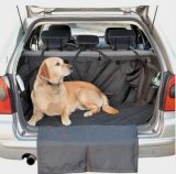 Tampa de assento confortável do carro do cão de animal de estimação com costume