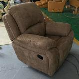 Presidenza del sofà del Recliner del tessuto in mobilia del salone (S822)