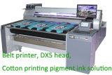 Epson Dx5 맨 위 안료 잉크를 가진 직물 인쇄 기계