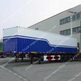 반 Tri Axles 밴 Body Truck 화물 상자 트레일러