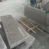빨간 화강암 G687 옥외 돌은 층계 운동장을%s 라이저 화강암 족답한다