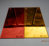 レーザーの切り分けることのための光沢度の高いアクリルミラーシート