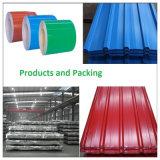 Heiße Verkaufs-gewölbte Dach-Material-Farben-überzogenes Stahlblech PPGI