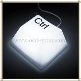 La luz LED lámpara de mesa LED de la tecla Pulsar la Noche Luz Niños dormitorio de la luz interruptor del tacto regalo de los niños (SHIFT, DEL, ESC, CTRL)