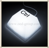 LEDの卓上スタンド夜ライトLEDキーの出版物ライト子供の寝室の軽い手法スイッチ子供のギフト(シフト、DEL、ESC、CTRL)