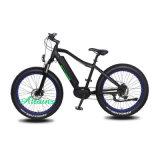 승진 26*4.0 타이어 48V 500W 750W Samsung 건전지 큰 힘 뚱뚱한 타이어 전기 자전거
