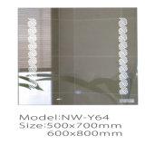 Espejo elegante iluminado del cuarto de baño del cuarto de baño LED de la pantalla táctil