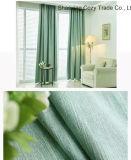 Les ventes chaudes ont boudiné le tissu de rideau en arrêt total de Cotton+Polyester