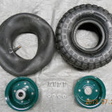 3.50-8 Rotella di gomma pneumatica dell'aria della rotella