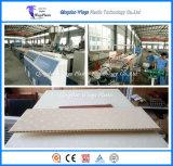 Holz und Plastikhohle Platte/Panel/Vorstand/Profil der zusammensetzung-WPC, das Maschine herstellt