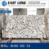 Pierre artificielle de quartz avec la configuration de marbre pour le décor de cuisine