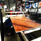 Производственная линия пластичный лист панели потолка PVC PP/PE деревянный пенилась PVC машины Extrudering панели пенилась машинное оборудование штрангпресса панели