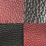 SGS Gold Certification Z058 Automotive Leather Upholstery Leather Cobertura do volante couro couro artificial em PVC