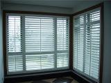 Il PVC del vinile della camera da letto della Victoria Shutters la finestra