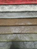 Tissu de canapé de suède avec tissu de tissu en cuir (JH038)