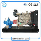 Двустороннего всасывания разделения двигателя дизеля насос осевого Dewatering