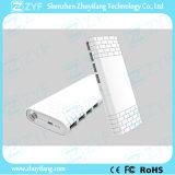 la Banca esterna Port di potenza della batteria del USB 11000mAh 4 con la torcia Emergency (ZYF8081)