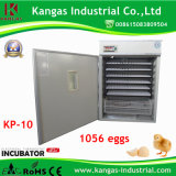 Prix automatique d'incubateur d'oeufs de cailles de volaille de prix de gros