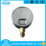 demi de type indicateur d'amorçage de bas d'acier inoxydable de 63mm de pression rempli par liquide Non-Isométrique d'échelle