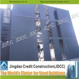 Edificio de varios pisos de la estructura de acero de la luz de la oficina de la fábrica del bajo costo