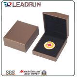 Caixa comemorativa do bloco da inserção de EVA da caixa de moeda da lembrança do presente da medalha do caso da coleção do emblema (D50)