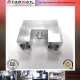 Mecanizado CNC de aluminio con óxido de oro