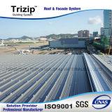 Trizip65-430 루핑과 벽 Clading 시스템