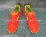 Yello färbt auf lagerfußball-Mann-Schuhe für Großverkauf