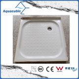 Os mercadorias sanitários Sqaure 2 bordos laterais suportam a bandeja Waste do chuveiro do ABS da parte traseira (ACT1111)