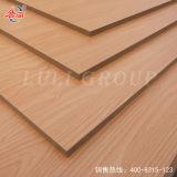 La mejor madera contrachapada de la cara del papel de la melamina de la calidad de la venta caliente