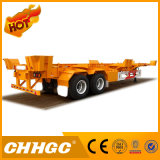 Semi-Trailer de esqueleto do recipiente do Gooseneck 2axle de 40FT
