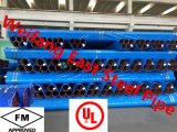 Tubo d'acciaio di UL/FM ASTM A135 Sch40 per il sistema di lotta antincendio dello spruzzatore