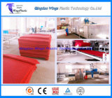 Tapis d'étage de bobine de la chaîne de production de couvre-tapis de garniture de pied de bobine de PVC/PVC faisant la machine