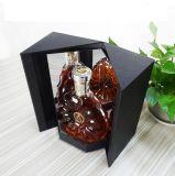Los rectángulos de empaquetado del vino de la cartulina acanalada para la venta, Wine rectángulo de mano