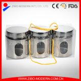 ステンレス鋼デザインの缶詰になる卸売のためのガラスの缶詰になる瓶