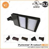 UL Dlc 열거된 IP65 옥외 200W LED 지역 주차등