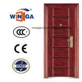 Porte en acier de garantie d'oscillation de qualité de la CE de Sunproof (W-S-118)