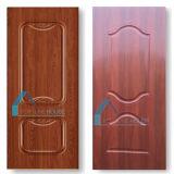 Кожа двери меламина MDF Shandong прокатанная изготовлением HDF нутряная