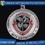 Metal olímpico de la medalla de los medallones del deporte del color del cliente
