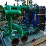 De hoge Efficiënte Warmtewisselaar van de Plaat van Gasketed van de Koeler van de Olie van het Water van de Overdracht van de Hitte Koelere