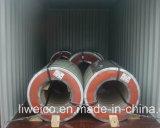 La qualité principale en gros a enduit la feuille d'une première couche de peinture en acier galvanisée de la bobine (PPGI/PPGL)/toiture