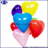 De blauwe Ballon van het Helium van de Douane van 2017 Hart Gevormde