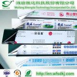 알루미늄 단면도 또는 알루미늄 격판덮개 알루미늄 플라스틱 널 또는 Colord를 위한 PE/PVC/Pet/BOPP/PP 보호 피막 PVC 단면도
