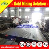 Sable noir de plage séparant la machine, usine de concentré d'or de sable de fleuve