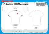 Da luva curta confortável de Customied da alta qualidade de 2106 Honorapparel camisa Running