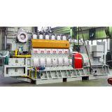 le groupe électrogène 1000kw a placé avec l'essence diesel/Hfo