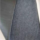 Grey Double Ribbed PVC Door Mat