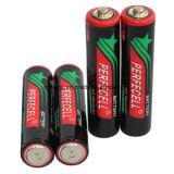 R03p/AAA/Um-4, сухая батарея 1.5V с курткой PVC