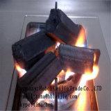 De Houtskool die van de Waterpijp van het bamboe de Rookloze Houtskool van de Briket van het Bamboe trekken