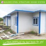 熱い販売の低価格の鋼鉄移動式プレハブの家